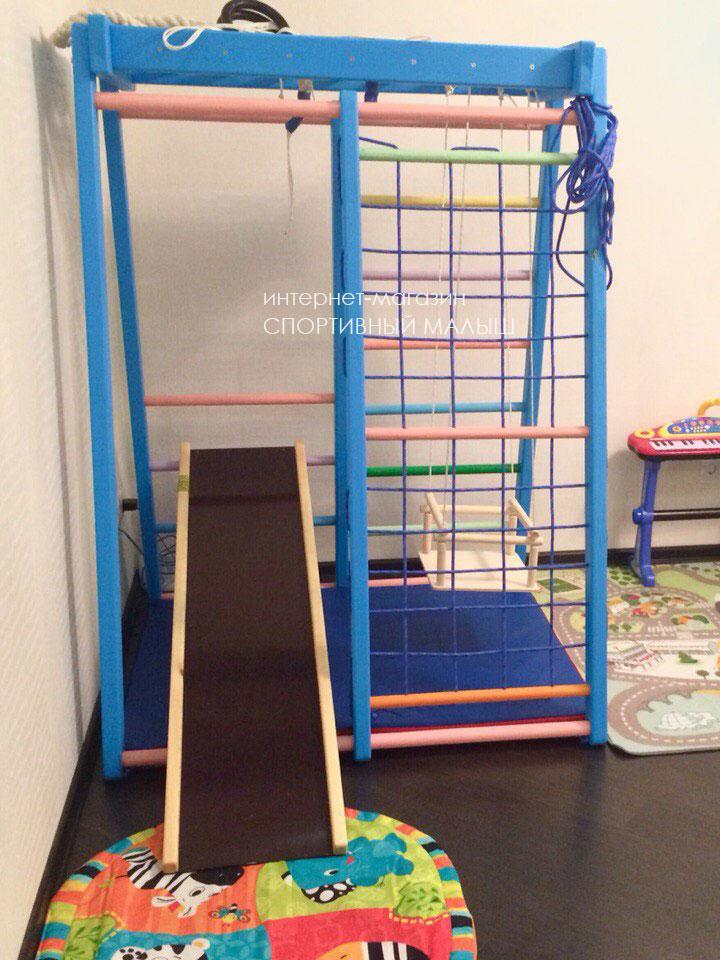Идеи для обстановки детской. Оборудуем спортивный уголок в комнате ребенка.
