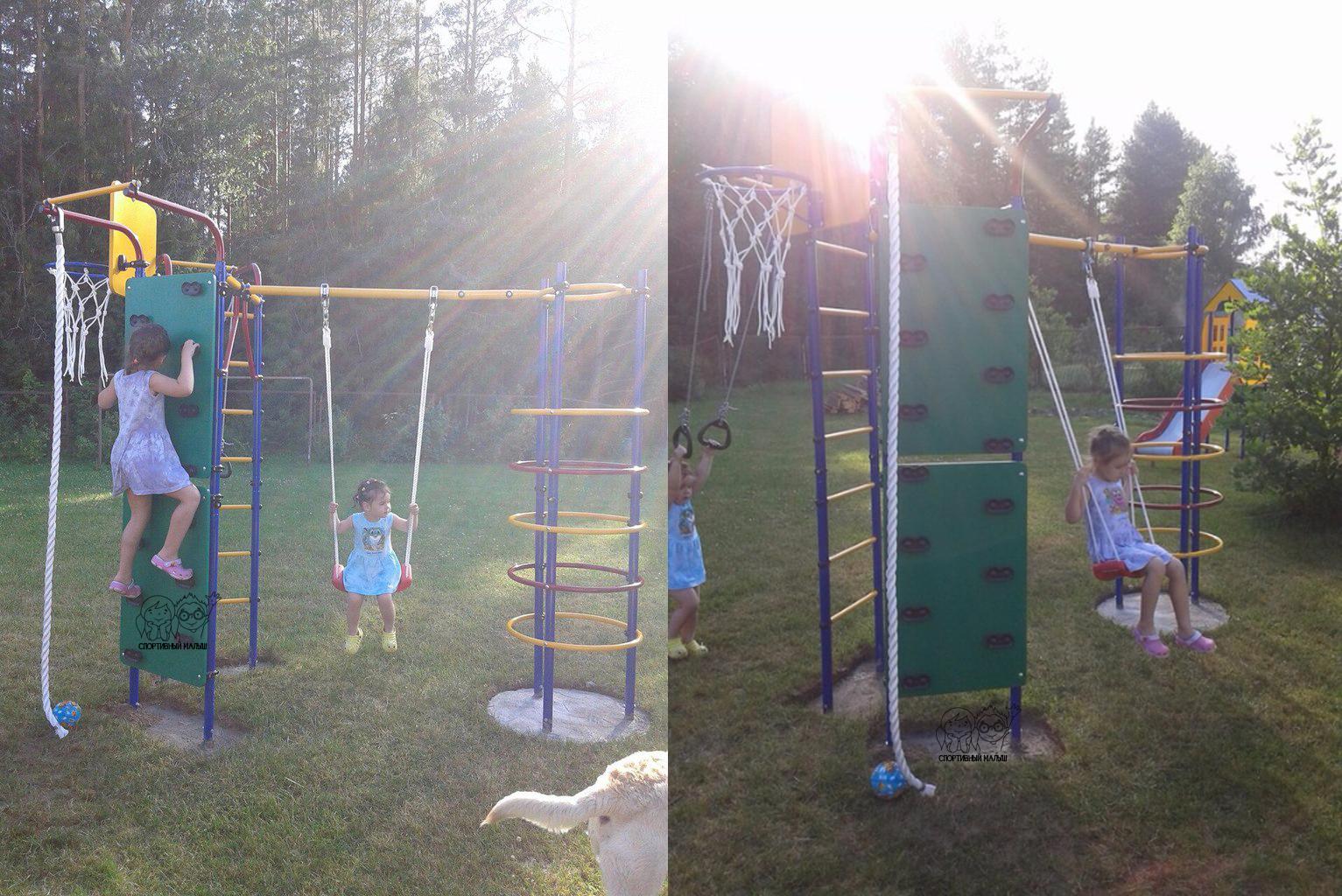 Детская уличная спортивно-игровая площадка Скалодром-15 Романа, отзыв покупателя