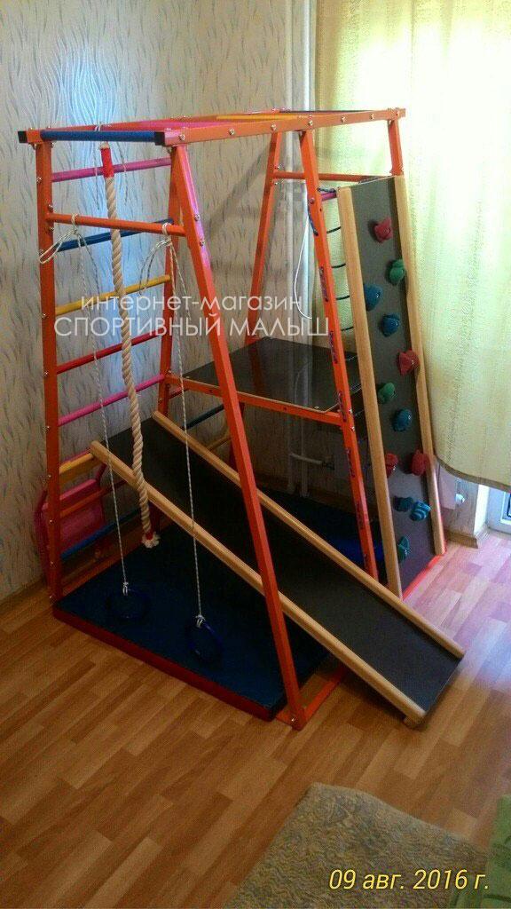 Металлический дск теремок оранжевый с пиратской площадкой для дома и дачи купить с доставкой. вариант с навесным скалодромом